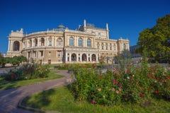 Odessa Opera and Ballet Theater stock photos