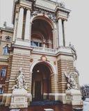 Odessa Opera Ballet Theatre foto de archivo libre de regalías