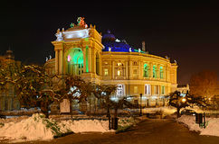 Odessa Opera and Ballet Theatre Royalty Free Stock Photography