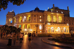 Odessa opera house Royalty Free Stock Image