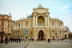 Odessa Opera House Stock Photo