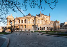 Odessa opera house Royalty Free Stock Photography
