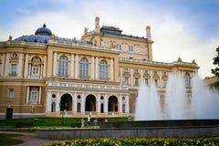 Odessa Opera Theater Immagini Stock