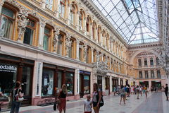 Odessa Passage. Was built at the end of the 19th century and was the best hotel in Southern Russia. Hotel Passage hotel and indoor shopping arcade, a monument Stock Photography