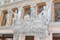 Odessa Passage. Was built at the end of the 19th century and was the best hotel in Southern Russia. Hotel Passage hotel and indoor shopping arcade, a monument Royalty Free Stock Images