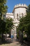 Odessa, południe Ukraina, Primorsky bulwar, Vorontsov pałac Lipiec 10, 2018 Chodzić na miasto ulicach w lecie zdjęcie stock