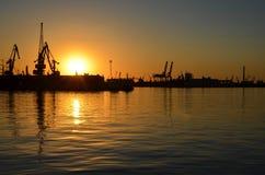 odessa port Obraz Royalty Free