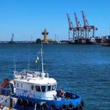 Odessa Port 2 royalty free stock photos
