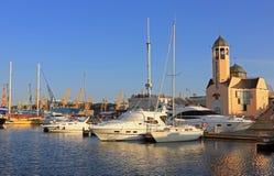 Odessa port morski obrazy stock
