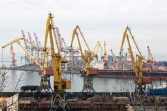 Odessa Port Ukraine photos libres de droits