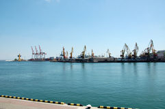 Odessa port Royalty Free Stock Photos