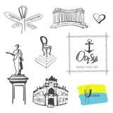 Odessa print Stock Image