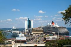 Odessa sea port Royalty Free Stock Photos