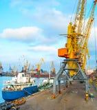 Odessa sea port, Ukraine Royalty Free Stock Photography