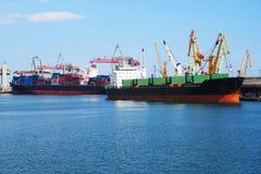 odessa seaport Arkivfoto