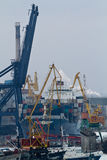 Odessa seaport Royalty Free Stock Photography
