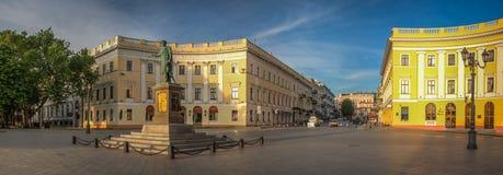 Odessa Seaside Boulevard in de Oekraïne royalty-vrije stock foto's