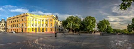 Odessa Seaside Boulevard em Ucrânia imagens de stock