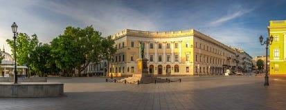 Odessa Seaside Boulevard em Ucrânia imagens de stock royalty free