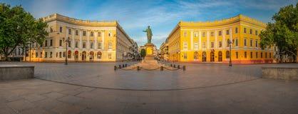 Odessa Seaside Boulevard em Ucrânia fotos de stock royalty free