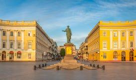 Odessa Seaside Boulevard in Ucraina immagini stock