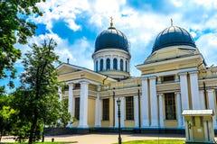 Odessa Spaso Preobrazhensky Cathedral 02 fotografia de stock royalty free
