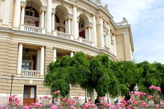 odessa TARGET978_1_ dziejowa domowa opera Ukraine Zdjęcia Royalty Free