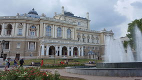 Odessa teater arkivfoto