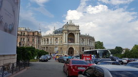 Odessa teater royaltyfria bilder