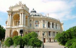 odessa teater ukraine Arkivbild