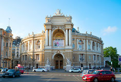 Odessa Theater of Opera, Ukraine Royalty Free Stock Photography