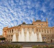 Odessa Theatre de Opera e do bailado Fotos de Stock Royalty Free