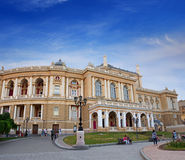 Odessa Theatre of Opera and Ballet Stock Photos