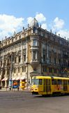 Odessa Tram on Preobrazhenska Street Stock Photography
