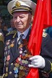 Odessa, Ucrânia - 9 de maio: Parada. Victory Day Fotos de Stock Royalty Free