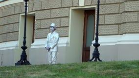 Odessa, Ucrânia - a rua mimica video estoque