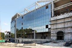ODESSA, UCRAINA - 13 agosto 2011: Un constructi alta tecnologia unico Immagini Stock Libere da Diritti