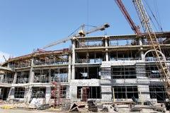ODESSA, UCRAINA - 13 agosto 2011: Un constructi alta tecnologia unico Fotografie Stock