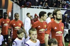 ODESSA, UCRAINA - 8 dicembre 2016: Fuori playe di Manchester United Immagine Stock