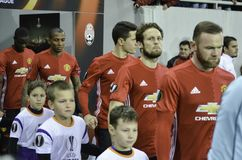 ODESSA, UCRAINA - 8 dicembre 2016: Manchester United di calcio Immagini Stock
