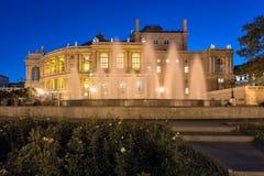 ODESSA, UCRAINA - il teatro di opera Fotografia Stock Libera da Diritti