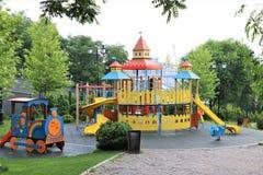 Odessa, Ucraina Uno sguardo al parco di Costantinopoli fotografie stock libere da diritti