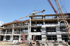 ODESSA, UCRANIA - 13 de agosto de 2011: Un constructi de alta tecnología único Fotos de archivo