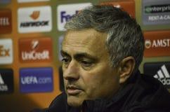 ODESSA, UCRANIA - 8 de diciembre de 2016: Coche Jose Mourinho en RRPP Imagenes de archivo
