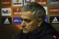ODESSA, UCRANIA - 8 de diciembre de 2016: Coche Jose Mourinho en RRPP Imagen de archivo