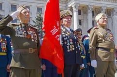 Odessa, Ucrania - 9 de mayo desfile Imagenes de archivo