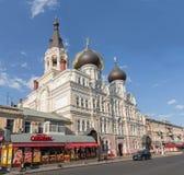 Odessa Ukraina, Avgust, - 24, 2015: Katedra męczennik Panteleimon Wielki uzdrowiciel i obrazy royalty free