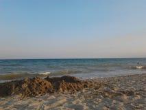 Odessa, Ukraina, Czarny morze - Lipiec, 2013 Obraz Royalty Free