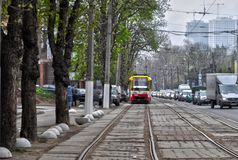 Odessa Ukraina wiosna Arkadia zdjęcia stock
