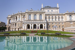 ODESSA, UKRAINE - 2 AOÛT 2016 : Odessa National Academic T Photographie stock libre de droits